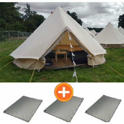 5M Bell Tent (for 3-6 people)