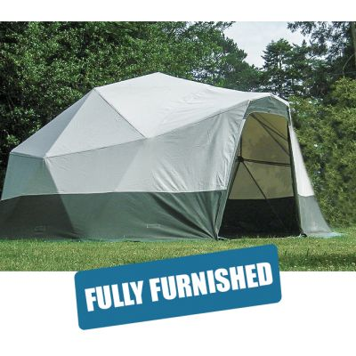 Geo Dome Package (for 2-4 people)