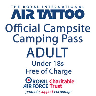 Camping Pass (for 1 Adult)