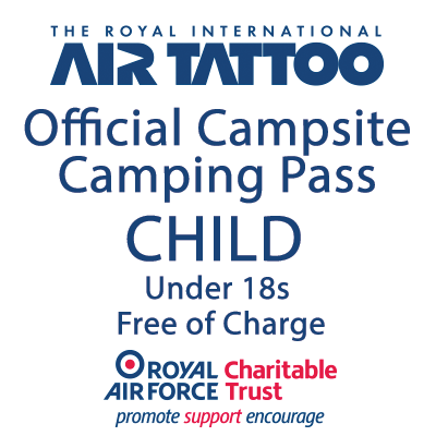 Camping Pass (for 1 Under 18)